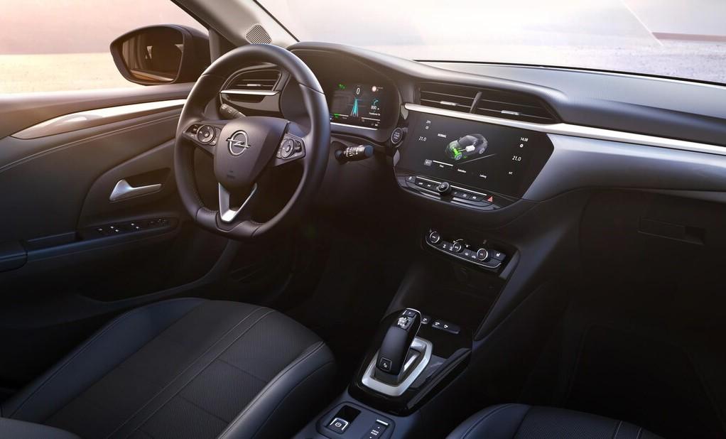 Opel corsa e intérieur Garage Guex
